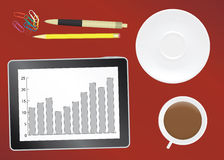 Office table Royalty Free Stock Photos