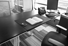Office table Royalty Free Stock Photography