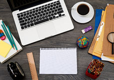 Office table Royalty Free Stock Image