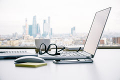 Office table side Stock Images