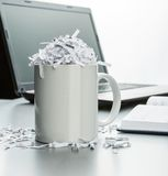 Office table Royalty Free Stock Images