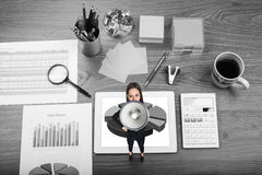 Office table royalty free stock photo