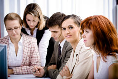 Office team Royalty Free Stock Image