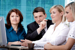 Office team Stock Photography