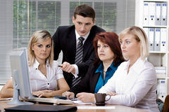Office team Stock Images