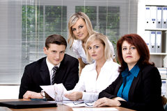 Office team Stock Image