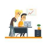 Office Team Success Stock Image