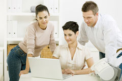 Office team working Stock Photography