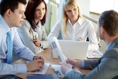Office teamwork Stock Image