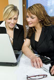 Office Teamwork Royalty Free Stock Photography