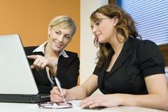 Office Teamwork Royalty Free Stock Image