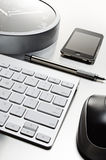 Office technology still life Royalty Free Stock Image