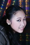 Office teen girl fashion royalty free stock photos