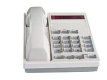 Office telephone. On white background Stock Photo