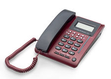 Office telephone isolated  Royalty Free Stock Image
