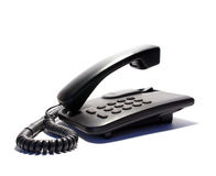 Office telephone. Isolated on a white background Stock Photography