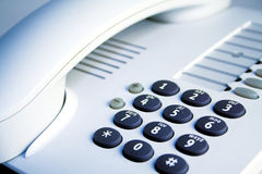 Office telephone detail Stock Photo