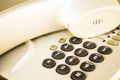 Office telephone detail Royalty Free Stock Images