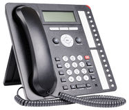 Office telephone set Stock Photo