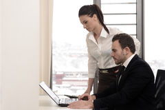Office time Royalty Free Stock Image