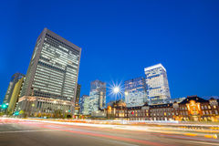 Office Tokyo Station Japan Stock Image