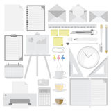 Office tool supplies. Vector. Stock Photography