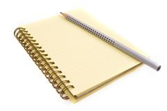Office tools. With pen and notebook Royalty Free Stock Images