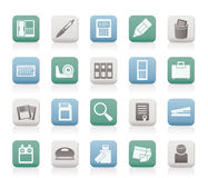 Office tools Icons Royalty Free Stock Images