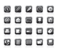 Office tools icons Stock Image