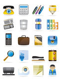 Office tools vector icon set 3 Stock Photography