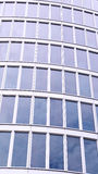 Office Tower. Abstract Architectural Detail of a Modern Office Tower Royalty Free Stock Images