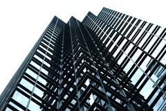 Office Tower. Tall modern looking office tower Stock Image