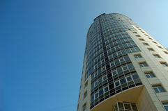 Office tower. Towering office building Royalty Free Stock Photography