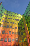 Office tower with colorful Glass walls Royalty Free Stock Photo
