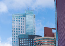 Office tower in rotterdam Royalty Free Stock Photos