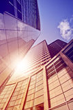 Office tower in the sun Royalty Free Stock Images