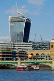 Office tower under construction at 20 Fenchurch Street Royalty Free Stock Photo