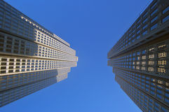 Office towers. Office tower buildings in San Francisco Stock Images