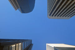 Office towers. Office tower buildings in San Francisco Royalty Free Stock Photos