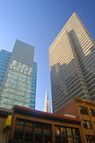 Office towers. Office tower buildings in San Francisco Royalty Free Stock Photo