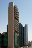 Office towers in Dubai royalty free stock photos