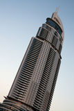 Office towers in Dubai. Modern tall buildings in Dubai Royalty Free Stock Photography