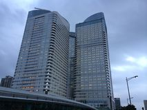 Office towers in Tokyo Royalty Free Stock Image