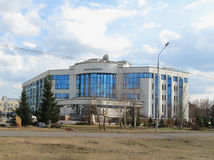 Office of Transsibneft company, Omsk, Russia stock photos