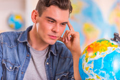 Office Travel Agency Stock Images