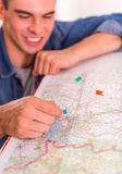 Office Travel Agency Stock Photos
