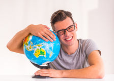 Office Travel Agency Royalty Free Stock Photography