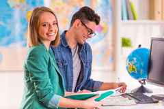 Office Travel Agency Royalty Free Stock Images