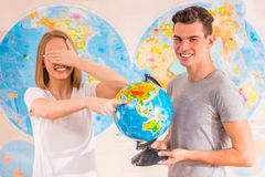 Office Travel Agency Royalty Free Stock Image