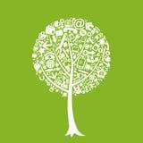 Office tree Stock Image